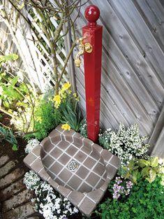 【ガーデン立水栓】【水栓柱】オーストラリア製。配管は安心の日本製!日本水道協会認定。カラフルで楽しい庭に。【Garden Tap】ガーデンタップ(立水栓)1口蛇口・ボールタイプ