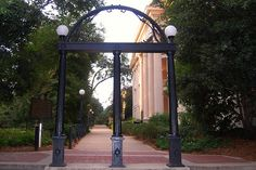The Arch at UGA-a reminder of pharmacy school, meeting Eric, family, priceless memories