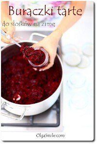 Beets grated into jars Polish Recipes, Polish Food, Canning Recipes, Food Design, Beets, Vegan Gluten Free, Preserves, Pickles, Side Dishes