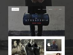 eCommerce Clothing Site Freebie ICNDY http://dlpsd.com/ecommerce-clothing-site-freebie-icndy/