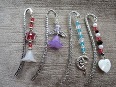 my own handmade beaded bookmarks