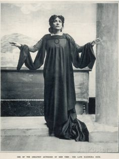 Eleonora Duse (1858-1924) Photographic Print at AllPosters.com