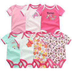 Cartoon Doctor Stethoscope,Baby Boys and Girls Bodysuits Infant Romper Jumpsuit Short-Sleeve Toddler Onesie Premium