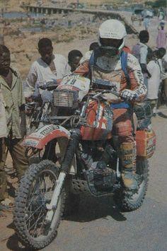Gagliotti - 1985 on Moto Morini Enduro Motocross, Enduro Motorcycle, Rallye Paris Dakar, Rallye Raid, Off Road Bikes, Vintage Helmet, Triumph Scrambler, Dual Sport, Trail Riding