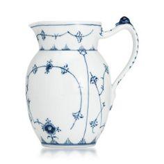 Royal Copenhagen - Blue Fluted Plain Milk Jug/Pitcher