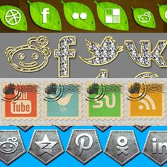 Free social media icons packs collection that you can download right away.Social media and social media icons are such an important part of establishing a presence online. We all have unique styles and preferences and that should be expressed to the audience by visual elements.Social media icons are a great way to do that. Choose the social icons in the collection below that best fit your style. You can use them as social media icons for your website, for business cards, on flyers, etc. You… Post Date, Social Media Icons, Icon Pack, Photoshop Tutorial, About Me Blog, Flyers, Business Cards, Free, Website