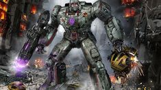 Megatron WIP by uncannyknack on DeviantArt Transformers Characters, Transformers G1, Great Pic, Metal Panels, Optimus Prime, Cool Art, Concept Art, Old Things, Artists
