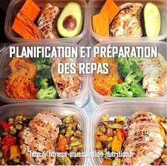 La nutrition joue un rôle important en musculation. La planification et préparation des repas va vous permettre d'atteindre vos objectifs plus facilement.