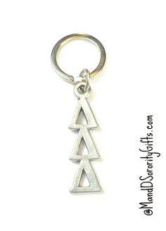 tri delta keychain - Google Search