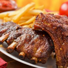 Pork back ribs are a great summer dinner.. Pork Back Ribs Recipe from Grandmothers Kitchen.