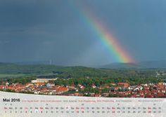 Fotokalender Thüringer Landschaften 2016, Mai