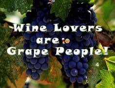 Wine Lovers are Grape People! #wine #vawine