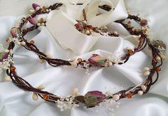 Boho wedding crown dried roses rhinestones crown baby breath   Etsy Greek Wedding, Boho Wedding, Wedding Crowns, Wedding Day, Drying Roses, Orthodox Wedding, Christening Favors, Wedding Matches, White Ribbon