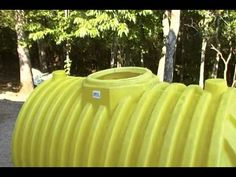 ▶ A 500 gallon septic tank for a cache or small underground shelter. - YouTube