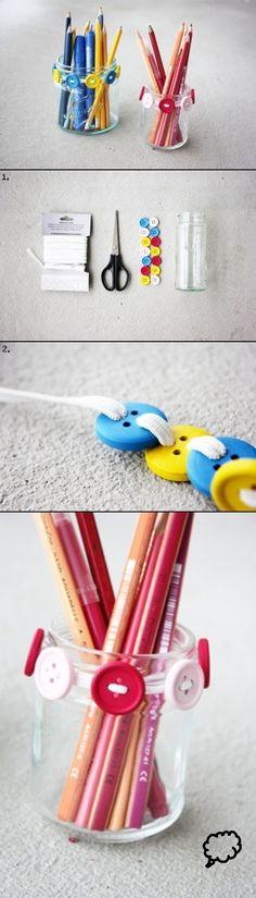 DIY Pencil Holders ideas