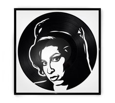 Repurposed Vinyl Turned into Portraits of Iconic Musicians