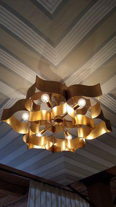 https://flic.kr/p/A2CieK | ceiling by thibaut - lighting by currey & co - hpmkt fall 2015 16