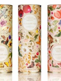 Crabtree & Evelyn Food on Packaging of the World - Creative Package Design Gallery Tea Packaging, Pretty Packaging, Beauty Packaging, Brand Packaging, Design Packaging, Packaging Ideas, Biscuits Packaging, Illustration Inspiration, Packaging Design Inspiration