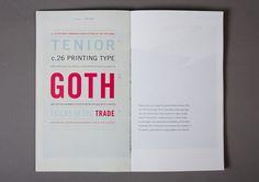 typographic book