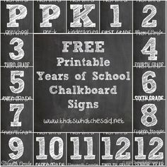Free First Day of School Printables from www.thatswhatchesaid.com