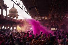 Mathura, India: Street Photography During the Holi Festival. Photo: Jason Vinson