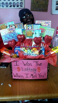 Won the Lottery | 23 DIY Valentines Crafts for Boyfriend