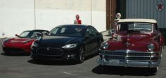 #Tesla Roadster, Tesla Model S, 1947 Windsor #Chrysler, all will be working it at National Plug In Day, Sept. 23, 2012, pluginday.org #npid2012