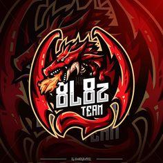 Esport Logo Designer & Mascot (@hanographic) • Instagram photos and videos Logo Dragon, Game Logo Design, Esports Logo, Sports Team Logos, Mobile Legends, Logo Maker, Fitness Logo, Design Reference, Logo Inspiration