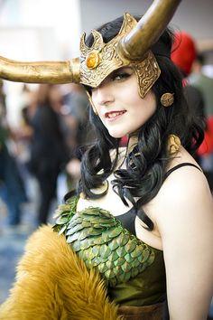 Loki cosplay | Wondercon 2013