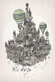 weandthecolor: by David Fleck. Most of the works are available as posters or t-shirt prints on Society6.