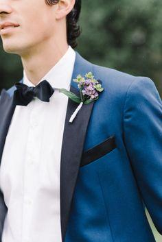 Navy tux:http://www.stylemepretty.com/south-carolina-weddings/charleston/2015/03/02/radiant-runnymede-plantation-wedding/ | Photography: Michelle Lange - http://www.loveandbemarried.com/