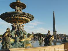 Place de la Concords, sans tourists. The time is now to visit Paris. www.noworriesparis.com