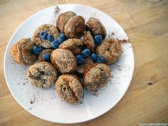 Savoury Blueberry Zucchini Protein Bites!