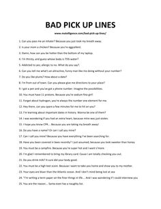 # cringy pick up lines 102 Bad Pick Up Lines – This is the only list you'll need. Cringy Pick Up Lines, Stupid Pick Up Lines, Clever Pick Up Lines, Pick Up Line Jokes, Pick Up Lines Cheesy, Cheese Pick Up Lines, Pic Up Lines, Lines For Best Friend, Funny Lines For Friends