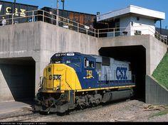 RailPictures.Net Photo: CSXT 742 CSX Transportation (CSXT) EMD SD70MAC at Cincinnati, Ohio by J. E. Landrum