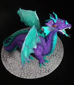 3D Dragon Wedding Cake  Cake by Cakeage