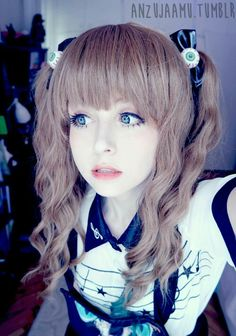 Lovely girl, kawaii, Japan style
