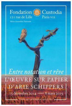 Entre notation et rêve : L'œuvre sur papier d'Arie Schippers à la Fondation Custodia.
