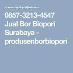 0857-3213-4547 Jual Bor Biopori Surabaya - produsenborbiopori