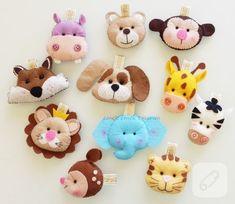 keçeden yapılmış içleri dolgulu sevimli hayvan figürleri anahtarlık ve magnet olarak hazırlanmış. bebek şekeri olarak da kullanılabilir. keçeden figürler, oyuncak ve hediyelik önerileri...