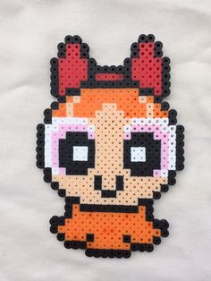 Powerpuff Girls Perler Bead Sprites for sale by PrettyPixelations!