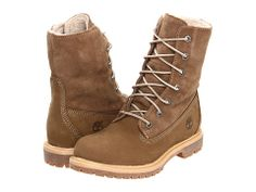 Timberland Authentics Teddy Fleece Fold-Down Taupe - Zappos.com Free Shipping BOTH Ways