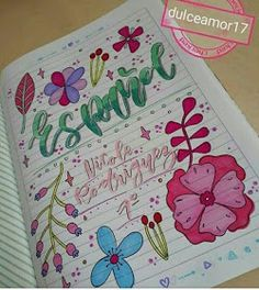 Bullet Journal School, Bullet Journal Spread, Notebook Art, Cute Disney Drawings, Cute Frames, School Notebooks, Pretty Notes, Decorate Notebook, School Notes