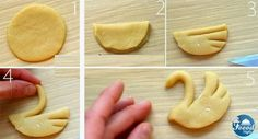 Creative swan shaped pastry idea - Foood Style