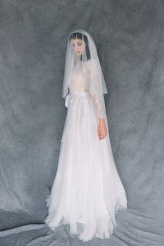 944802a242bf3 546 Best Veils images in 2019 | Bridal veils, Brides, Wedding bride