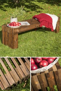 Lag hagebenk av MøreRoyal® terrassebord
