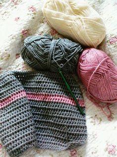 . Love Crochet, My Love, Fashion, Scarves, Tejidos, Moda, Fashion Styles, Fasion