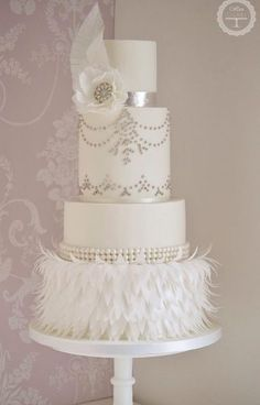 Cotton & Crumbs Wedding Cake Inspiration