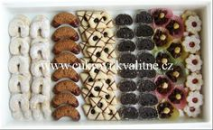 l Czech Recipes, Ethnic Recipes, Christmas Baking, Donuts, Sushi, Waffles, Cereal, Sweet Tooth, Food And Drink