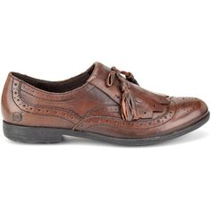 Born Boylenn Wingtip Loafers ($100) ❤ liked on Polyvore